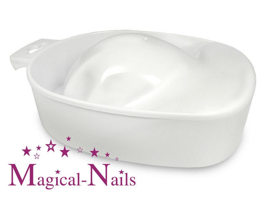 Maniküre Schale weiß, Nagelpflege, Hände reinigen, auf Rechnung ✓