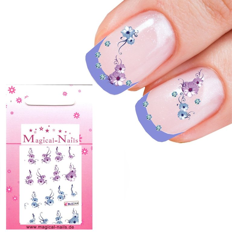 Nail Sticker One-Stroke