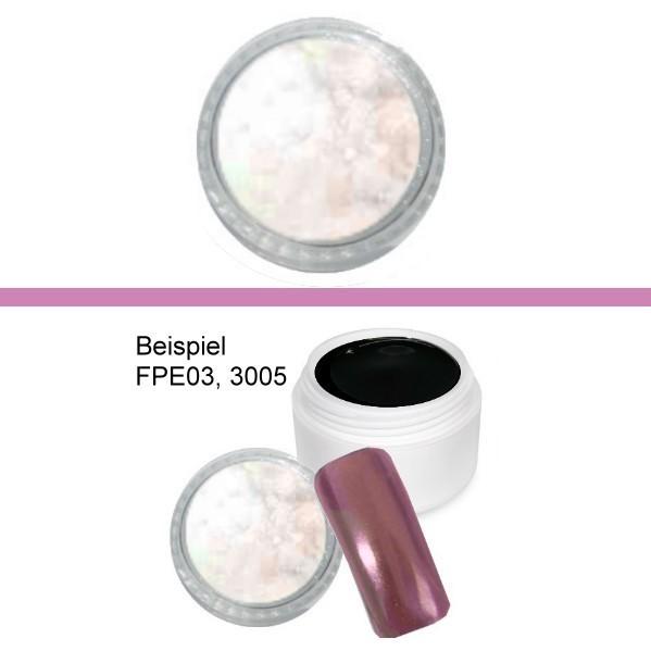 Pigment Aurora Weiss Rosa Grun Fingernagelkosmetik Nageldesign