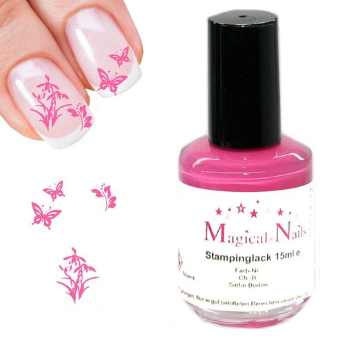15ml, Stamping Lack, Hellpink