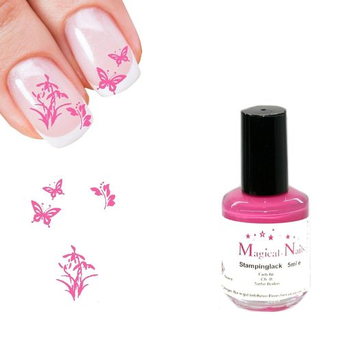 5ml, Stamping Lack, Hellpink
