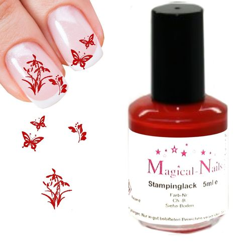 5ml, Stamping Lack, Rot