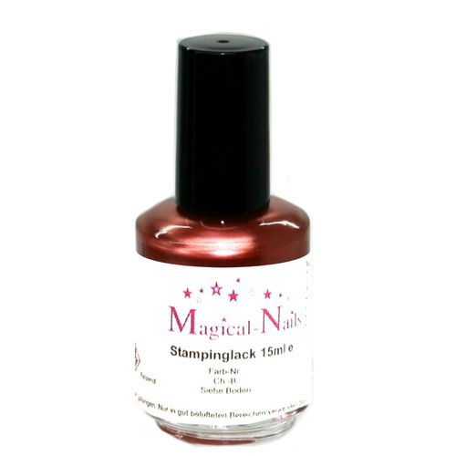 15ml, Stamping Lack, Kupfer-Pearl