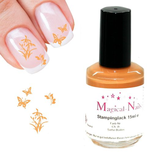 15ml, Stamping Lack, Apricot