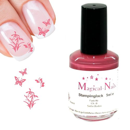5ml, Stamping Lack, Brombeere-Nude