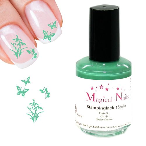 15ml, Stamping Lack, Mint