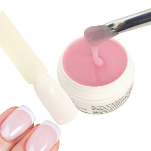 250g All in One UV-Gel, milky pink, medium, Nude, Babyboomer