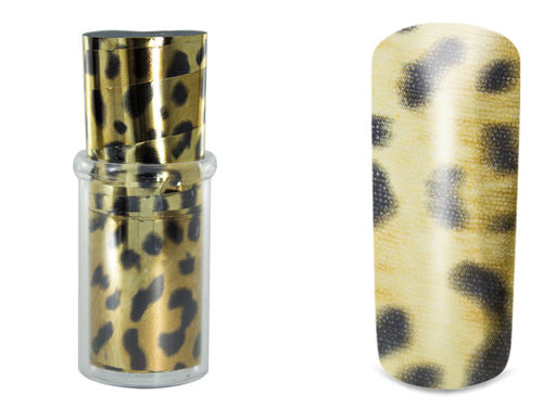 "Transfer Nagelfolien ""Golden Safari"" by Anja Beck, Designer Nail-Art-Folie, ca. 15 cm"
