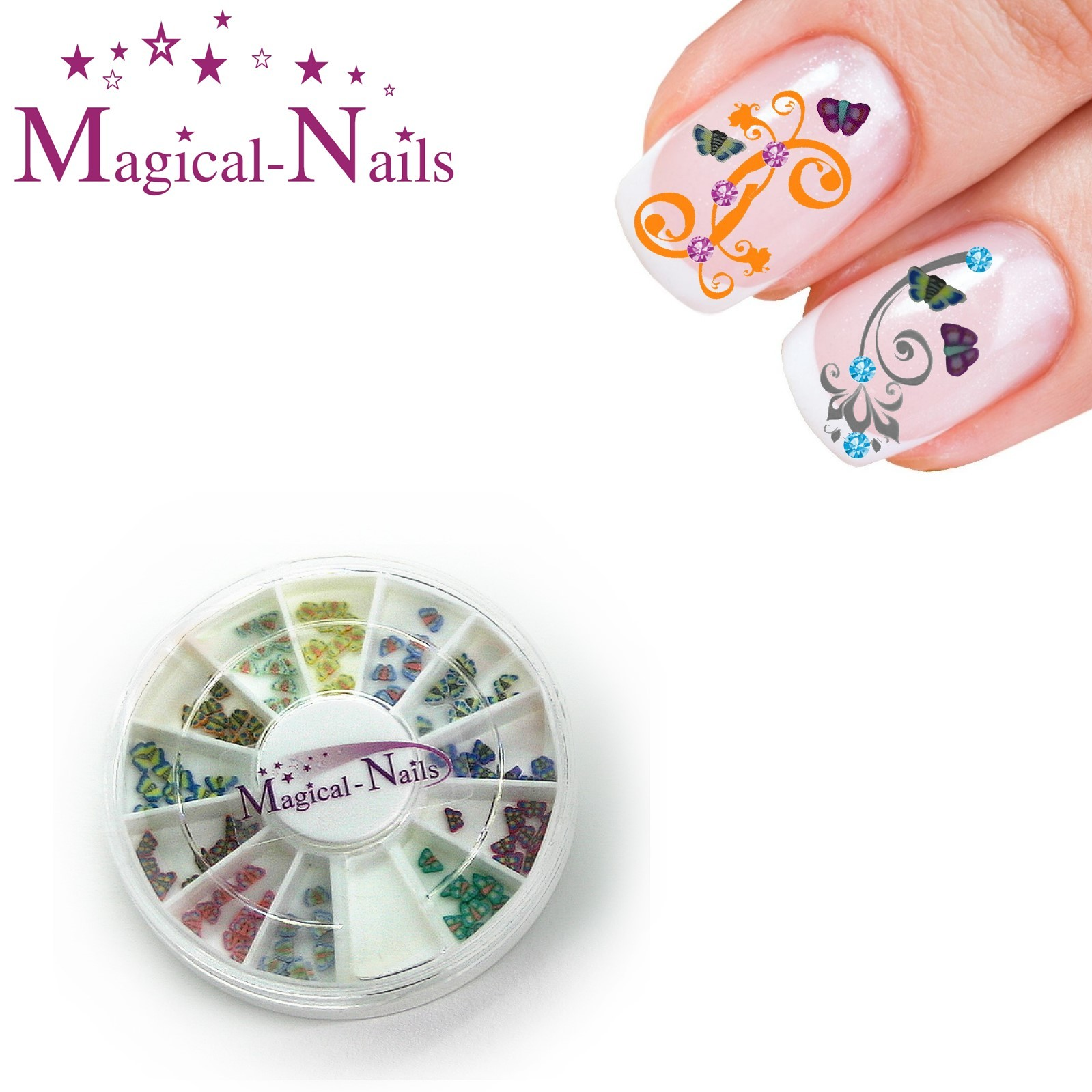 FB-4,_Fimo_Schmetterlinge,_Musternagel_www.magical-nails.de_anja_beck