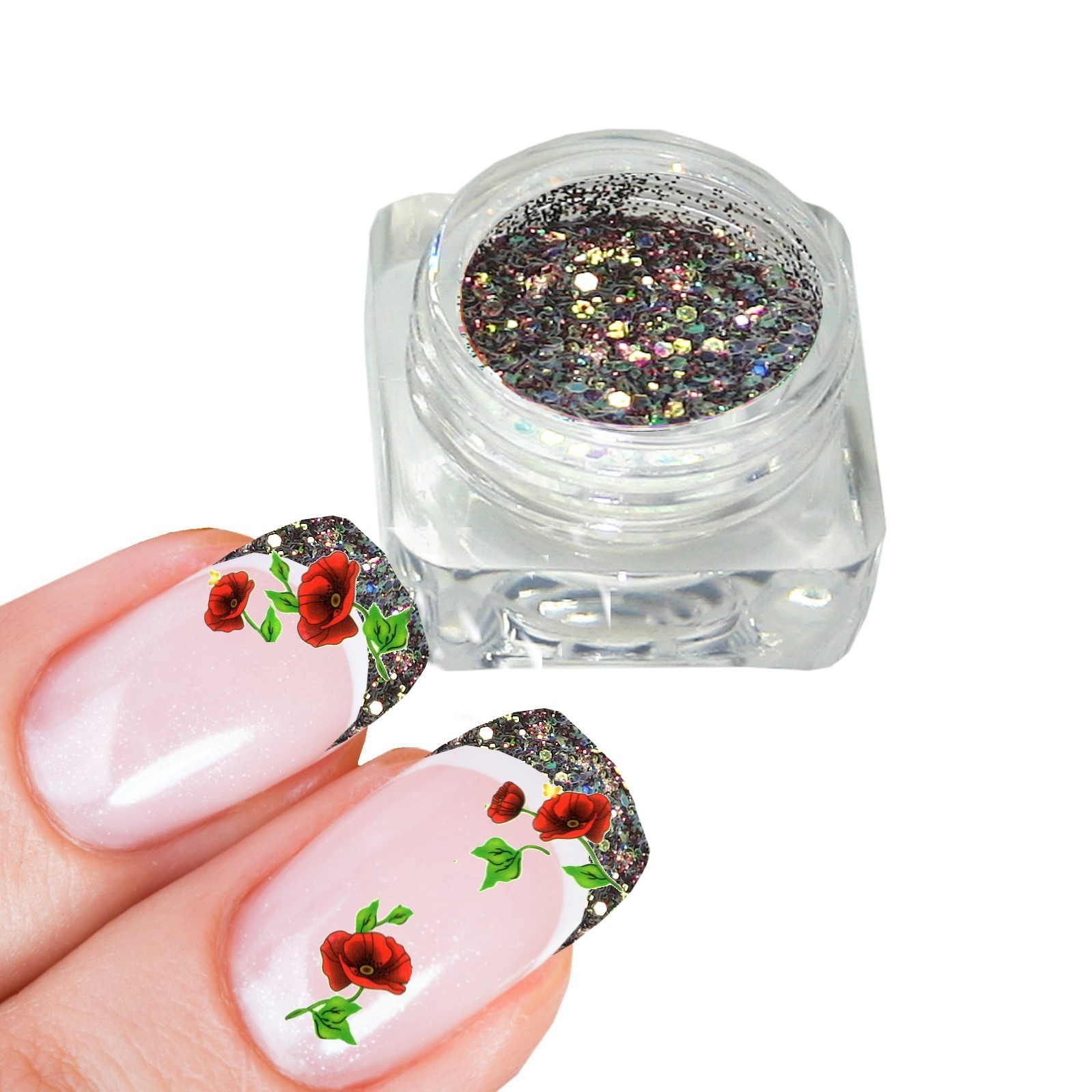 Pai42_Pailletten__Glitter_Puder_Mix_Anja_Beck_www.Magical-Nails.de